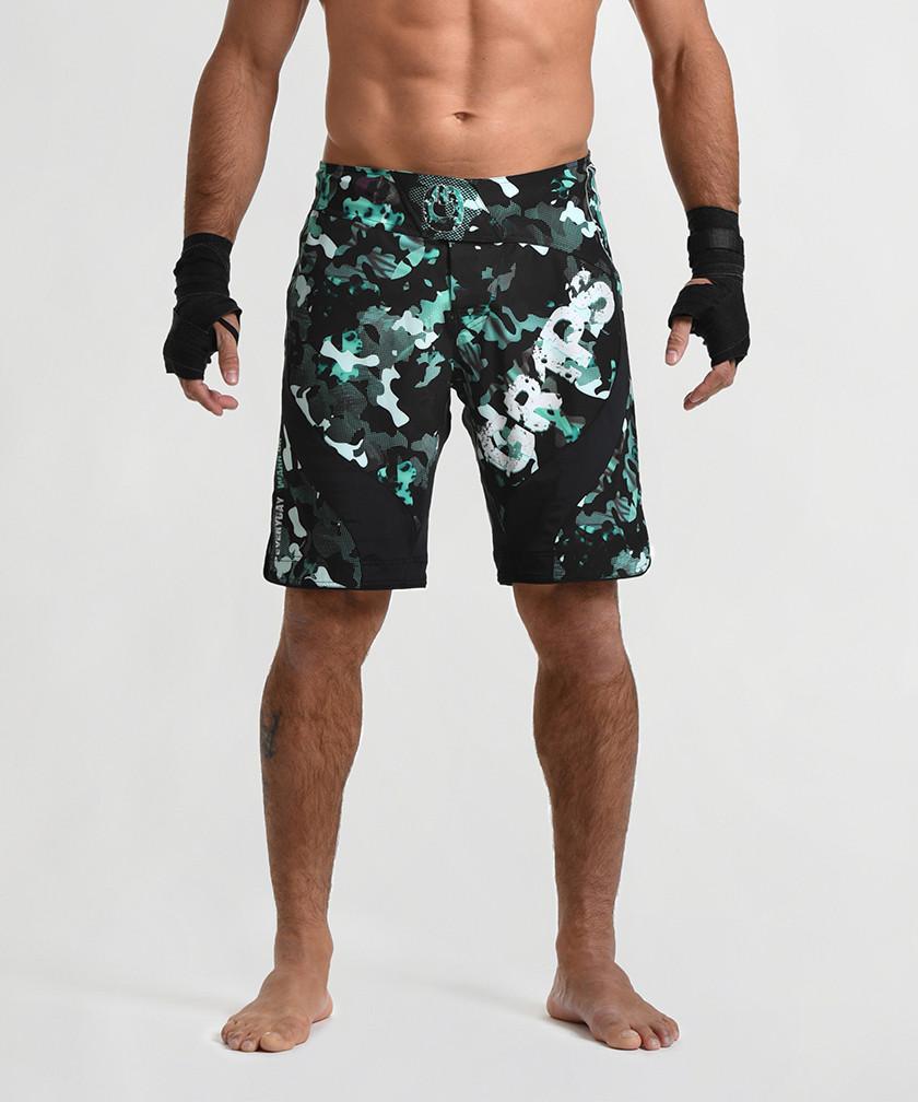 Greenwood Camo - Miura 2.0 Evo Fightshorts